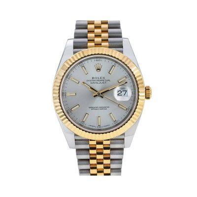 Rolex Datejust 126333 Boîtier Homme 41 Mm Acier Inoxydable