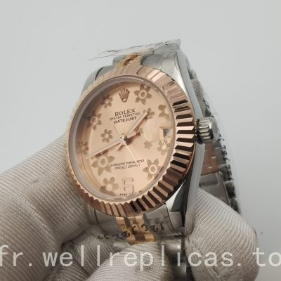 Rolex Datejust 178271 Mesdames Case 31 mm Everose Rolesor