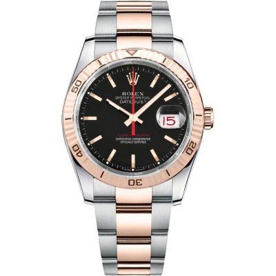 Rolex Datejust 116261 Boîtier Unisexe 36 Mm En Acier Inoxydable