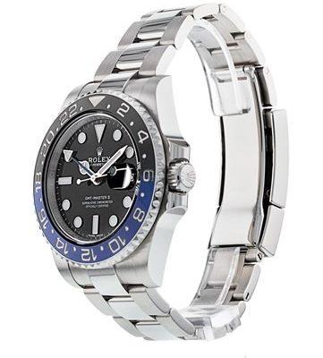 Rolex GMT-Master II 116710 Montre en acier pour homme à cadran noir 40 mm