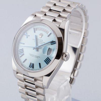 Rolex Day-Date 228206 Montre Automatique Unisexe 40 mm Glacier Blue